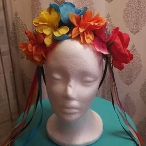 Festival or Day of the dead headband